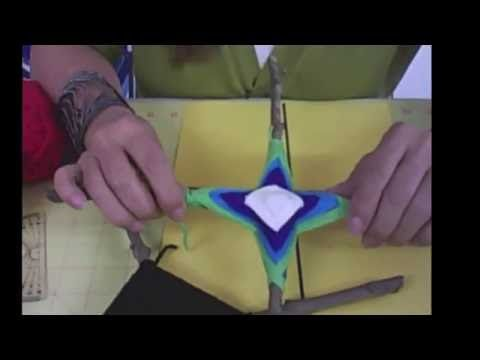 Como Hacer un Mandala de 12 puntas: Portal en Azul y Rosa - YouTube