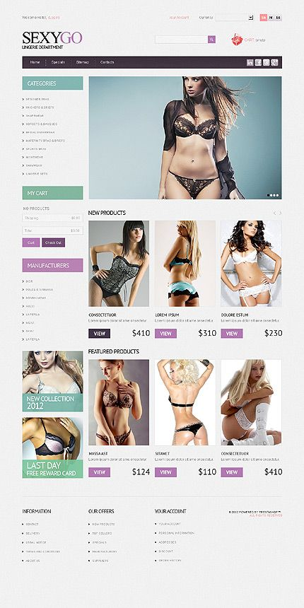 Website Template #40386