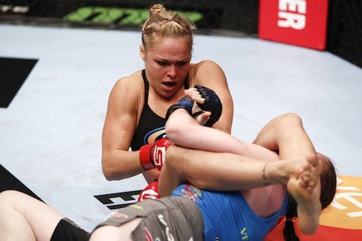 Ronda Rousey Makes UFC History