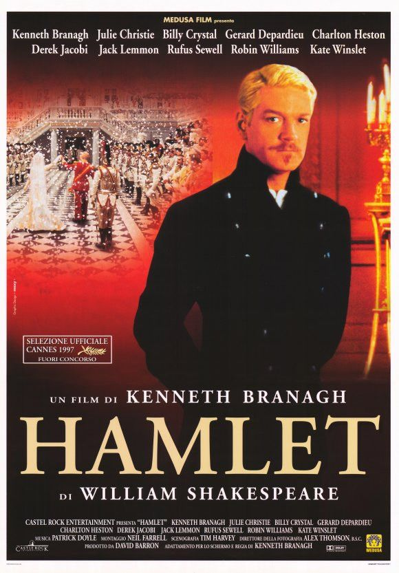 Hamlet 11x17 Movie Poster (1996)