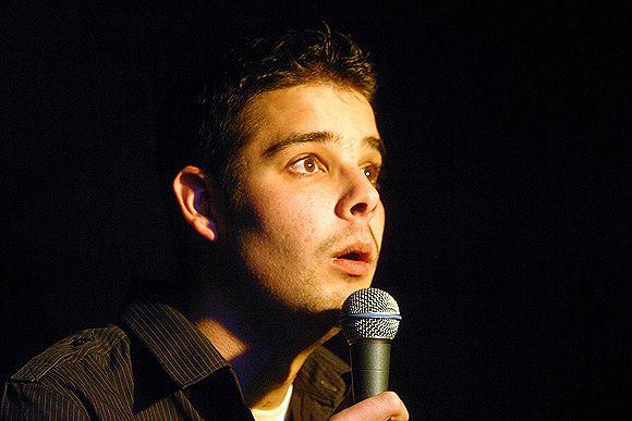 the comedian, Kiss Ádám