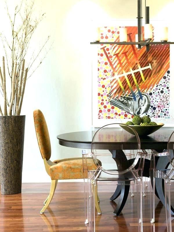 White Decorative Sticks For Vases Wallpaper Image Dining Room Ambiance Floor Vase Decor Modern Dining Room Paint