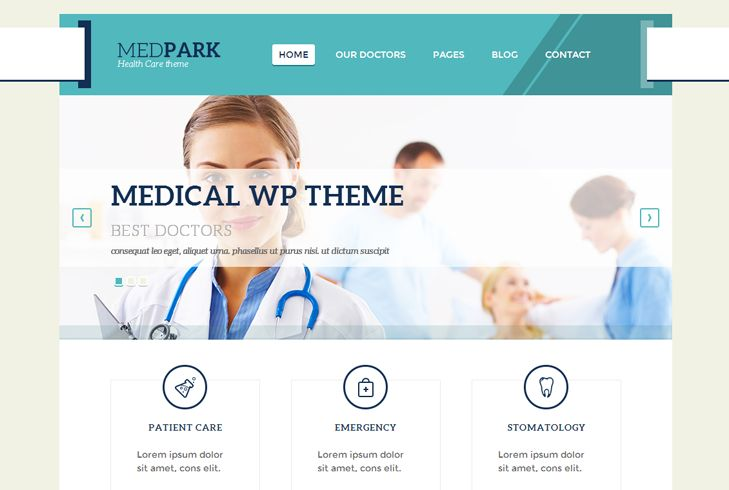 Here are some of the best medical WordPress themes, which can be used for blogs, heath news sites or websites for a hospital, doctors, dentists or clinics.