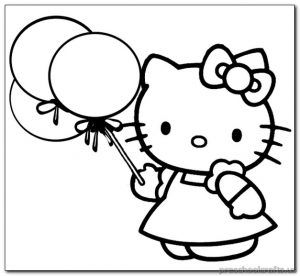 37 best Kitten Coloring Pages images on Pinterest | Pre-school ...