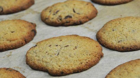 Glutenfri havrecookies med chokolade - Meyers