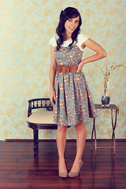 This web site has some cute clothes for teens and older women that are modest.