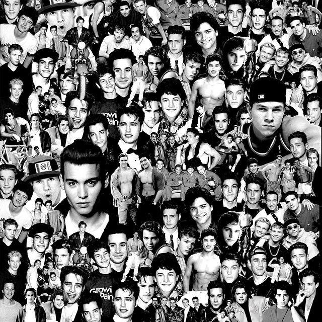 90's BOY'S DID IT BETTER. Christopher Lee Sauvé SS15. #thepopcultclub #90sboysdiditbetter #jasonpriestly #christopherleesauve #markwahlburg #90s #collage #hotboys #johnnydepp #crybaby #markymarkandthefunkybunch (at City of Silver Lake) www.christopherleesauve.com