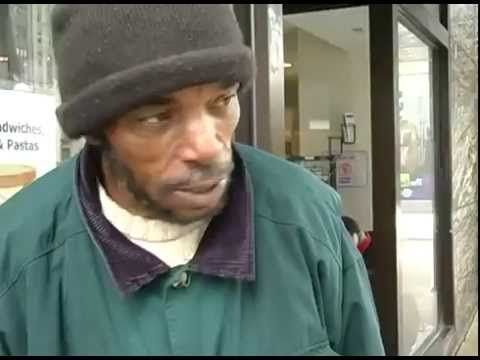 An honest account of what it feels like to be on the streets, looking for a job, and to be called a bum by Ronald Davis, a man in Chicago who has been homeless for at least two years. / via YouTube. Follow-up story: http://www.huffingtonpost.com/2013/05/02/ronald-davis-chicago-fund_n_3196021.html