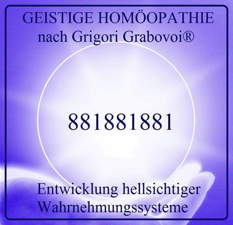 Entwicklung hellsichtiger Wahrnehmungssysteme, GEISTIGE HOMÖOPATHIE nach Grigori Grabovoi®, Sphäre