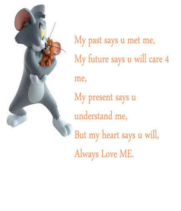 My Heart Says u2013 Love Quote