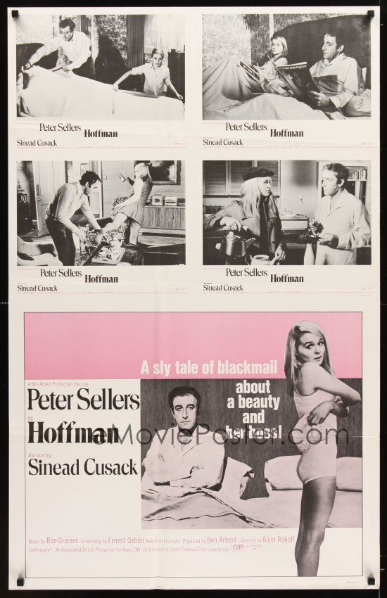 eMoviePoster.com Image For: 2x316 HOFFMAN special 28x44 '70 lonely Peter Sellers wants sexy Sinead Cusack!