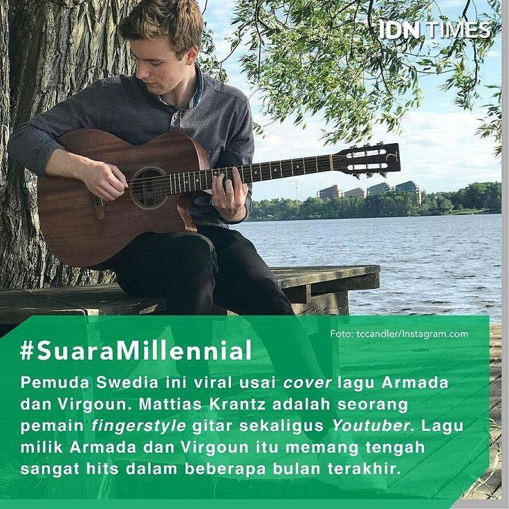 Sebuah akun Youtube bernama Mattias Krantz mendadak jadi sorotan para pengguna Youtube di Indonesia. Sebab pria asing dalam video tersebut mengover sejumlah lagu-lagu terkenal asal Indonesia seperti Asal Kau Bahagia (Armada), Dia (Anji) dan Surat Cinta Untuk Starla (Virgoun). Dilihat dari profil akun tersebut, menjelaskan bahwa Mattias Krantz adalah seorang pemain fingerstyle gitar asal Swedia yang telah lama mengover sejumlah lagu-lagu terkenal yang sedang hit di dunia. Berikut ini aksi…