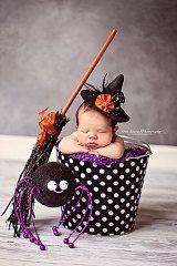Halloween Newborn Baby Photo Prop Galvanized by BroddersTubs, $30.00