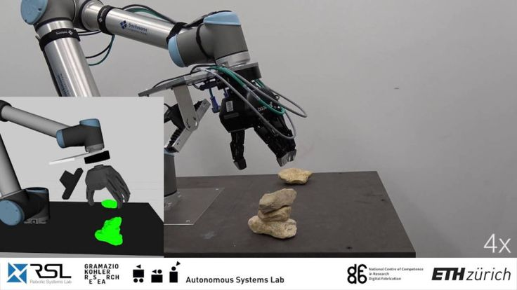 An Autonomous Robot That Can Pick Up Odd Shaped Rocks and Stack Them on Top of Each Other