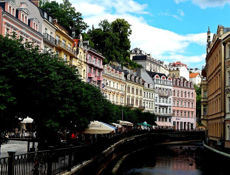 Kralovy Vary, Czech Republic. #Carlsbad #KarlovyVary #photography #spa #Czech