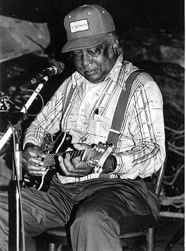 The great Mississippi Hill Country bluesman, RL Burnside