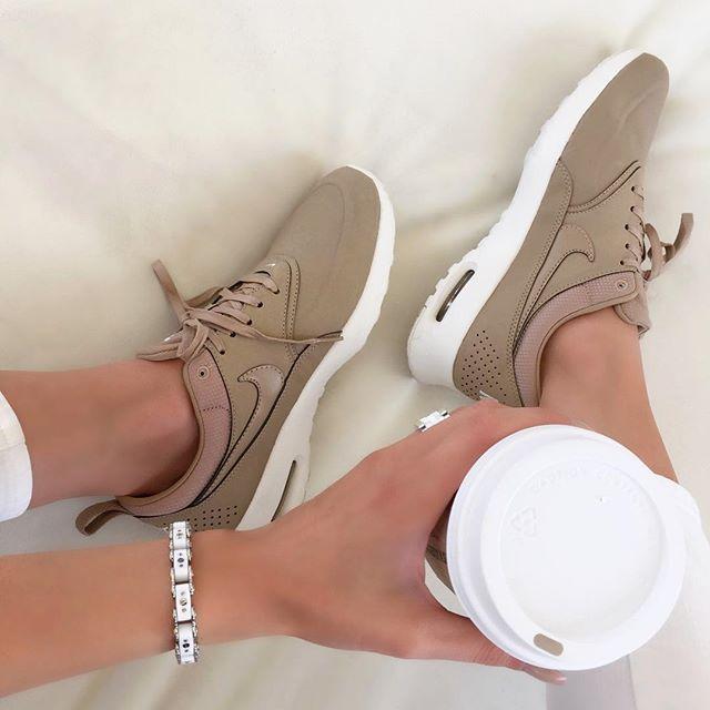 Nude #Nike's ✔️ air max thea Nike Icelink bracelet