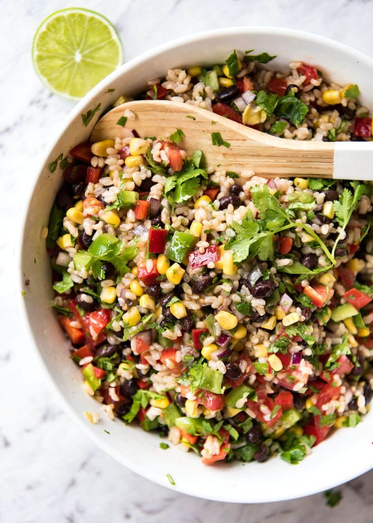 Bright, zesty, and full of flavour, this Cowboy Rice Salad will transport you to the wild, wild west!