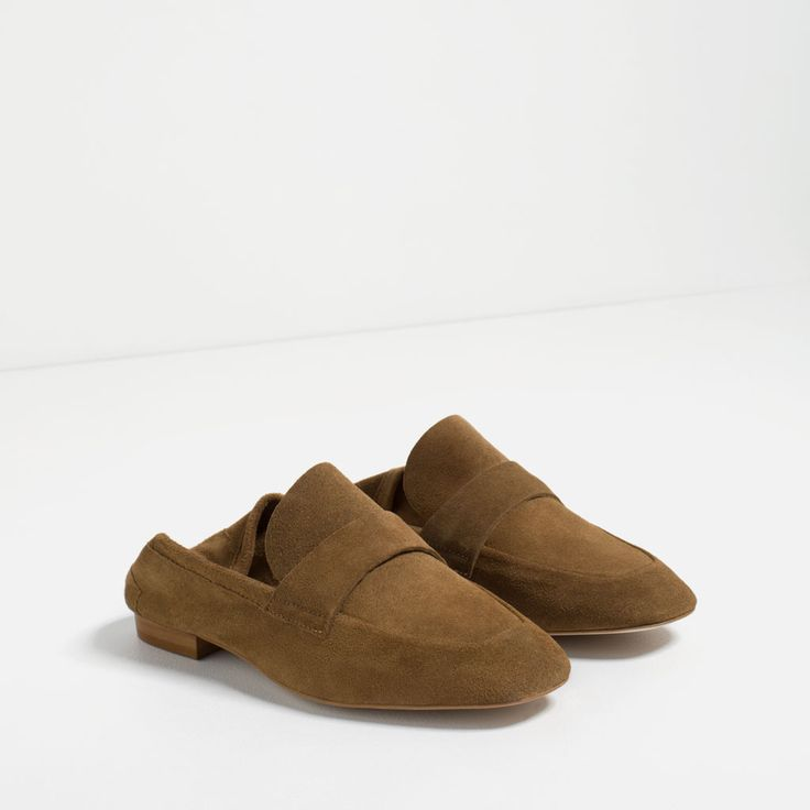 LEATHER PENNY LOAFERS-View all-SHOES-WOMAN | ZARA United Kingdom
