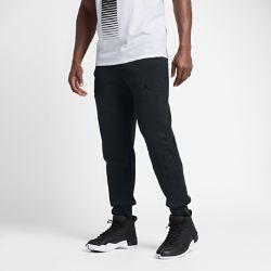 NoneМужские брюки Air Jordan 3 Fleece из ткани френч терри с начесом и боковыми вставками с водоотталкивающей отделкой DWR защищают от холода и влаги.