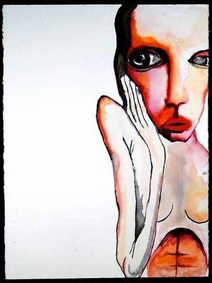 Creative Copenhagen: Akvarel billeder af Marilyn Manson