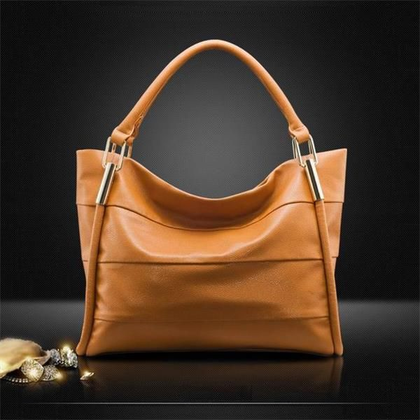 Real Leather, bag in black, blue, light brown - 70% discount this week