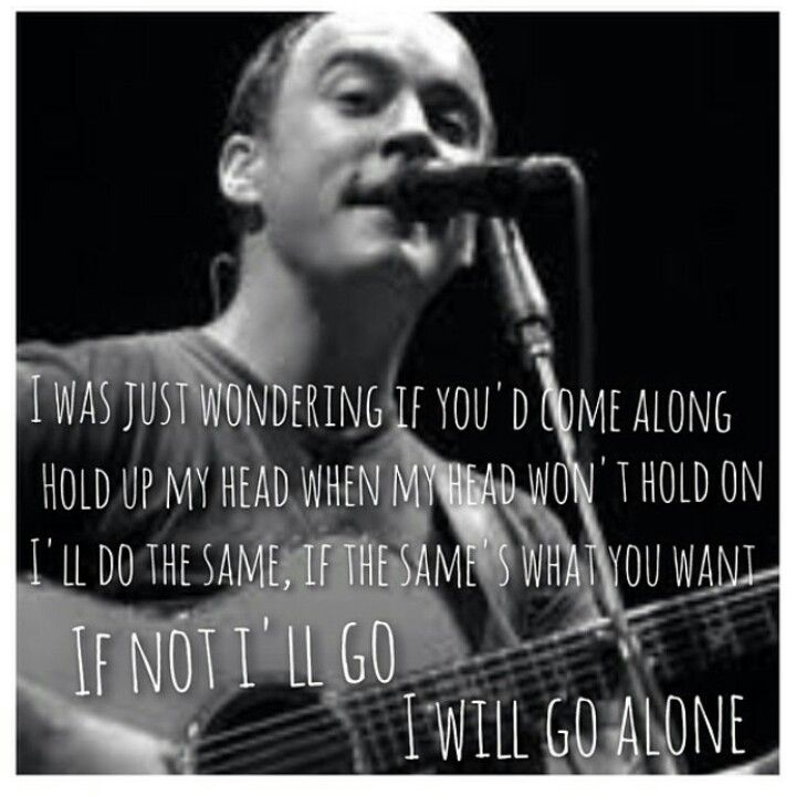 Dave Matthews knows perfection