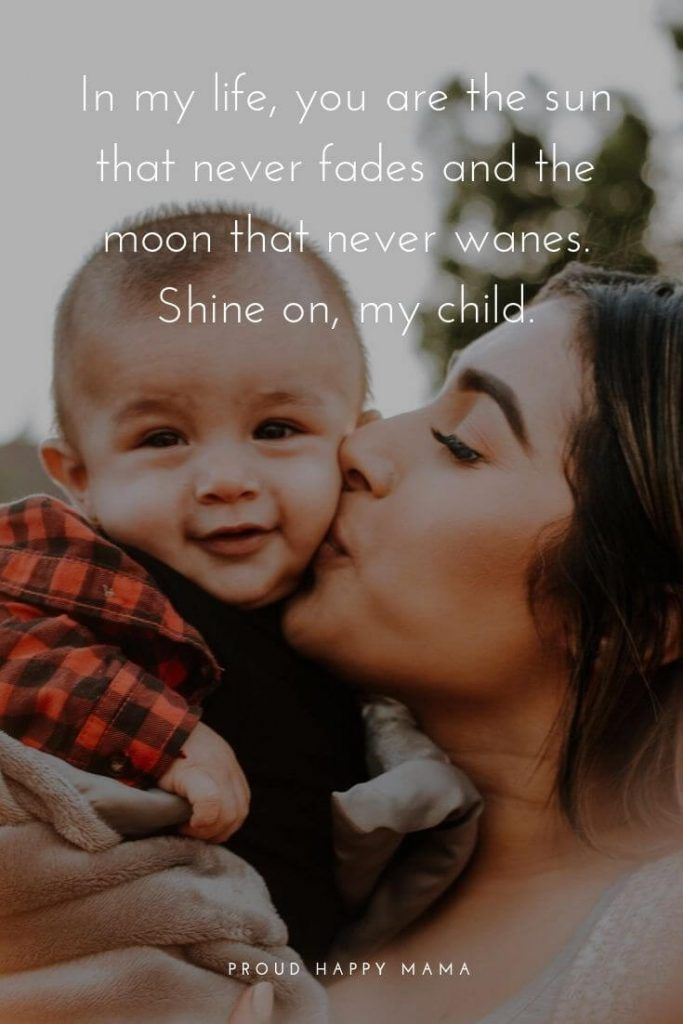 Mothers Love Baby Quotes My Children Quotes Baby Love Quotes