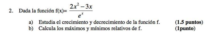 Ejercicio 2A 2006-2007 Setiembre. Propuesto en examen pau de Canarias. Matemática. Continuidad, derivabilidad y representación de funciones. Límites.