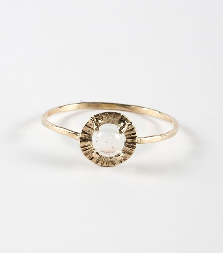 Alba Etruscan Moonstone Ring