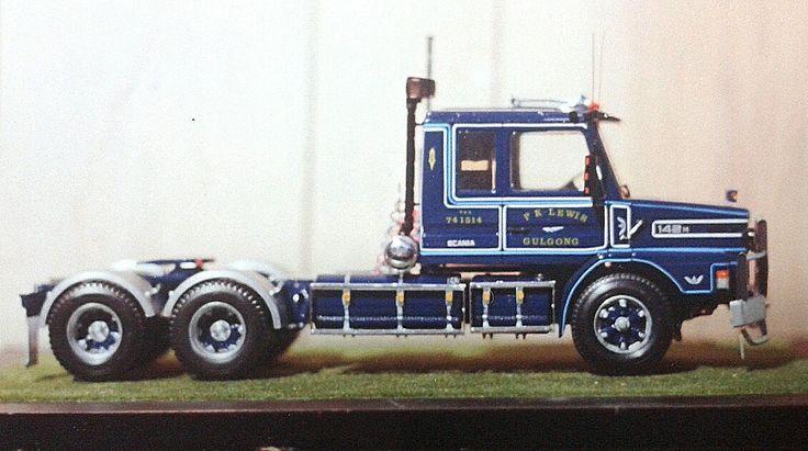 P K LEWIS Scania.