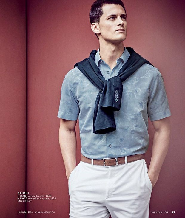 Garrett Neff shot in Mexico City by Matthew Brookes for the Neiman Marcus Spring 2017 Catalog