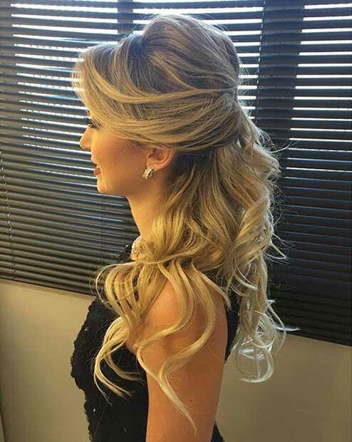 Half Up Half Down Hairstyles For Bridesmaids Hair