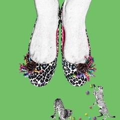 Stasia Chika Slippers- Artwork