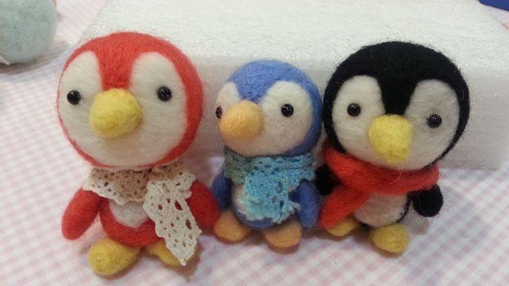 Taller Creativo: Pinguino, fieltro con aguja