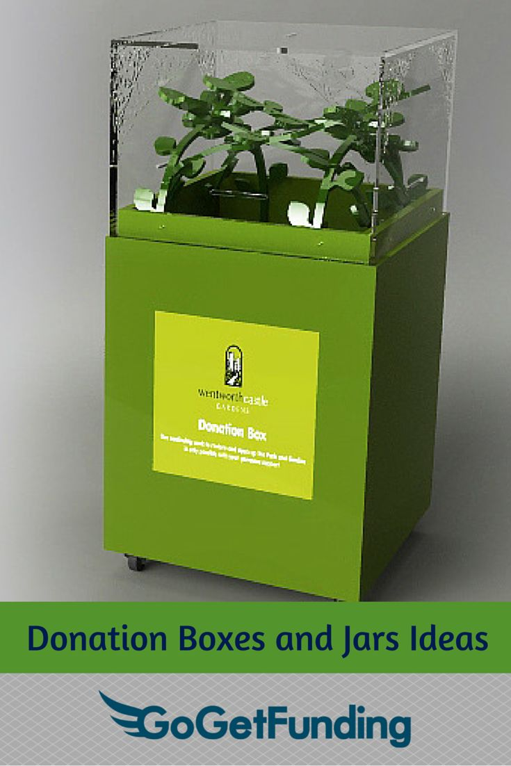 31 best Donation Boxes and Jars Ideas images on Pinterest ...