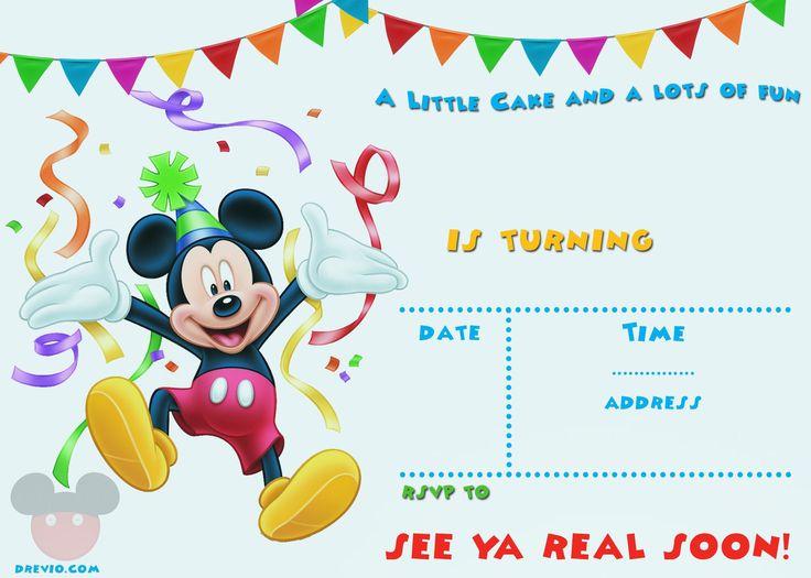 birthday invitation : birthday invitation templates - Free Invitation for You - Free Invitation for You