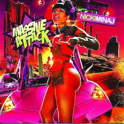 "Nicki Minaj ""MASSIVE ATTACK"" - Collector's Mixtape Mix CD"