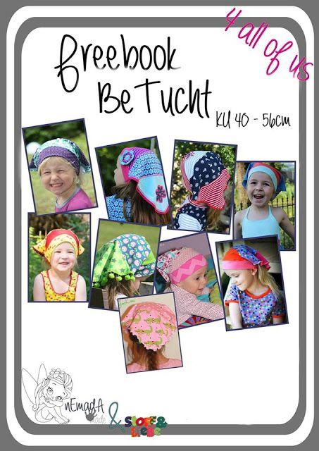 Freebook Kopftuch für Kinder KU 40 – 56cm