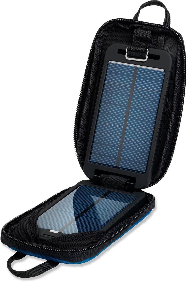 The lightweight Powertraveller Solarmonkey Adventurer solar charger combines an efficient solar charger with an internal battery. #REIGifts