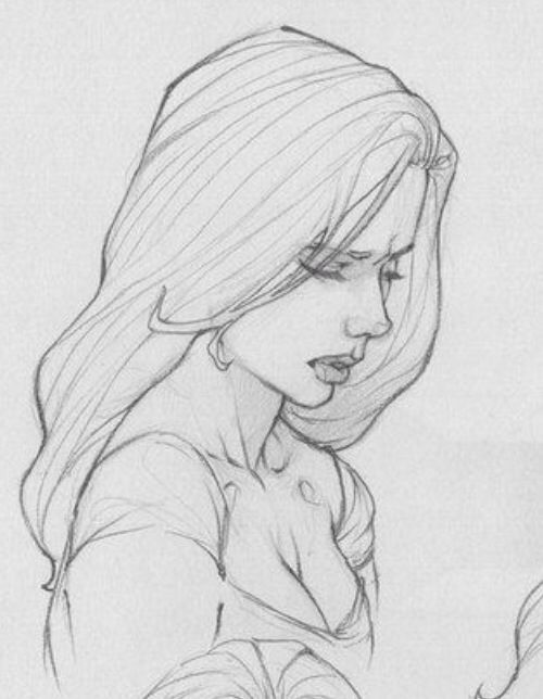 awesome drawing girl. cute drawing ideas. visit my…