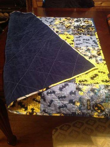 Batman quilt
