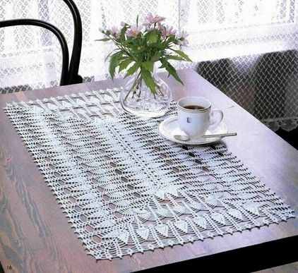 18 best images about tapete para mesa a crochet on for Tapete mesa