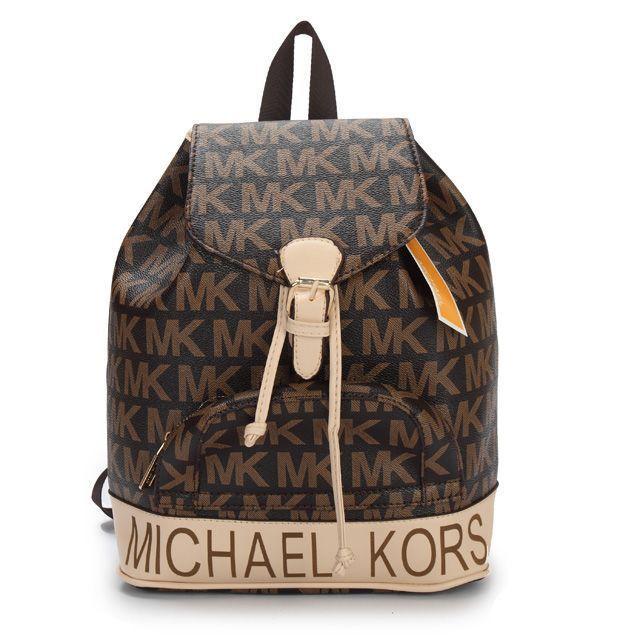 Michael Kors Jet Set Logo PVC Large Coffee Backpacks : Michael Kors Outlet,  Welcome to Michael Kors Outlet Online,Fashional michael kors handbgs,michael  ...