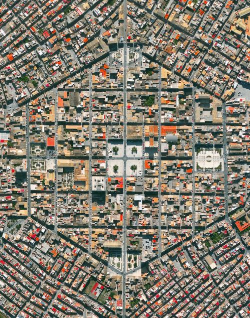 "dailyoverview:  "" Avola is a city located in the province of Syracuse, Sicily. After Avola was destroyed by an earthquake in 1693, the city was reconstructed in a new location using a geometric, hexagonal plan created by the friar architect Angelo..."