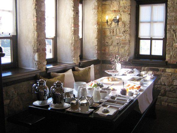 Breakfast at Ktima Bellou - Agios Dimitrios, Macedonia, Greece