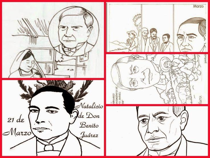 aLeXduv3: Dibujos para imprimir y colorear de Benito Juárez