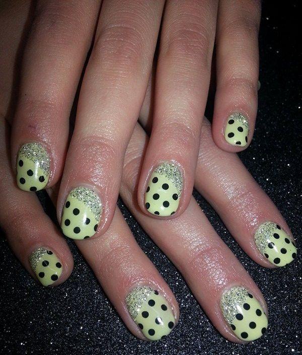 ... Pinterest   Galerias de arte de uñas, Uñas de lunares y Arte uñas