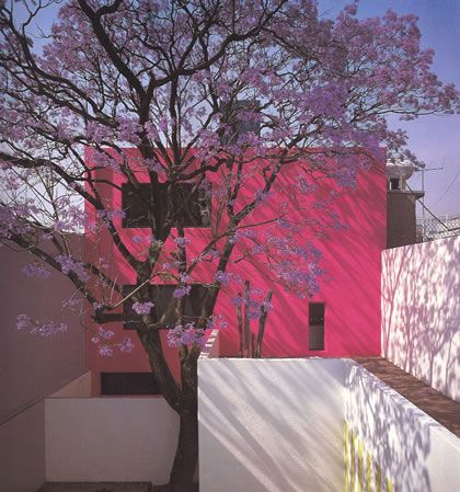 Luis Barragan'    From Jalisco Mexican style decorated homes