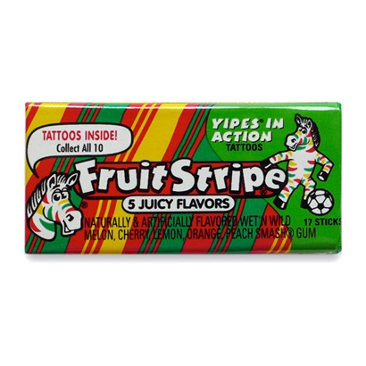 #inspiration, #90s, Retro Gum, #fruitstripe
